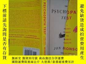 二手書博民逛書店The罕見Psychopath Test: A Journey Through the Madness Indus