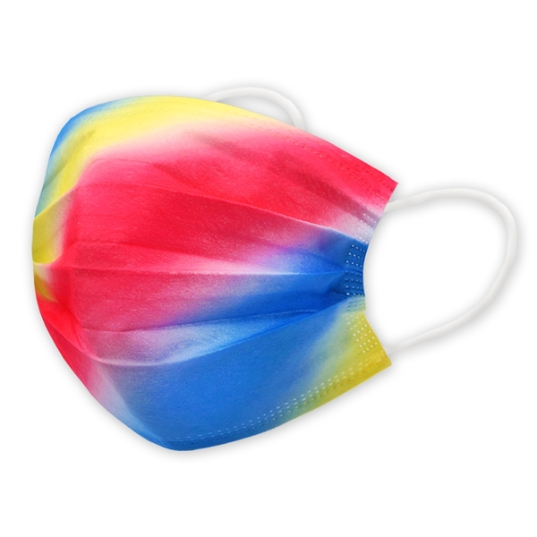 【3期零利率】預購 RM-A120 一次性防護亮彩漸層口罩 20入/包 3層過濾 熔噴布 高效隔離汙染 (非醫療)