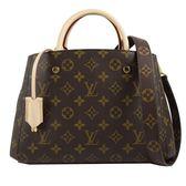Louis Vuitton LV M41055 Montaigne BB 經典花紋兩用仕女包 全新 現貨【茱麗葉精品】