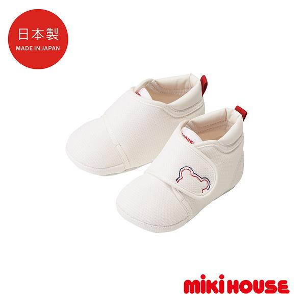 MIKI HOUSE 日本製 經典鞋款 寶寶軟底學步鞋
