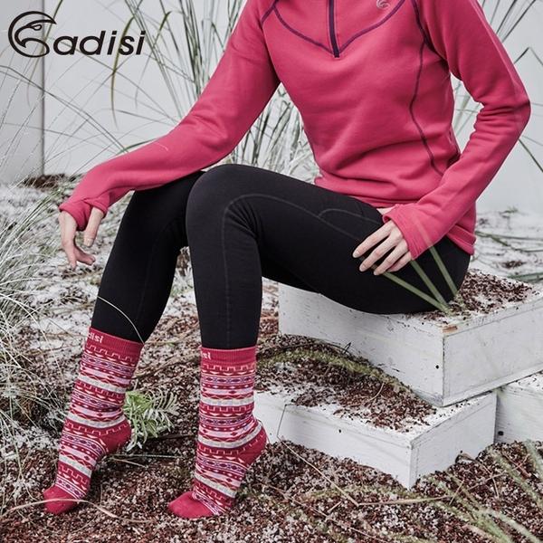 ADISI 女Power Stretch pro保暖長褲AP1821088 (S-XL) / 城市綠洲 (四面彈、刷毛保暖、吸濕透氣)