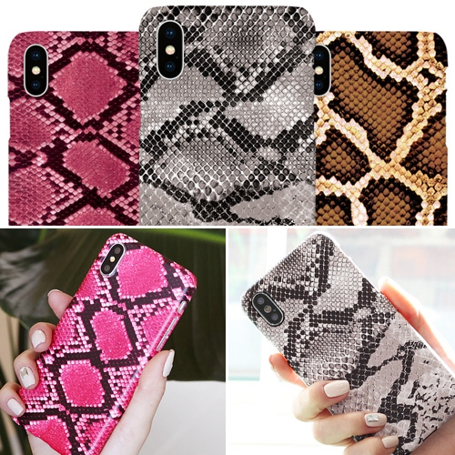 韓國 仿蛇紋 硬殼 手機殼│iPhone 6 6S 7 8 Plus X XS MAX XR 11 Pro LG G7 G8 V40 V50│z8790