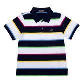 『小鱷魚童裝』多彩條紋POLO衫(02號~06號)531105