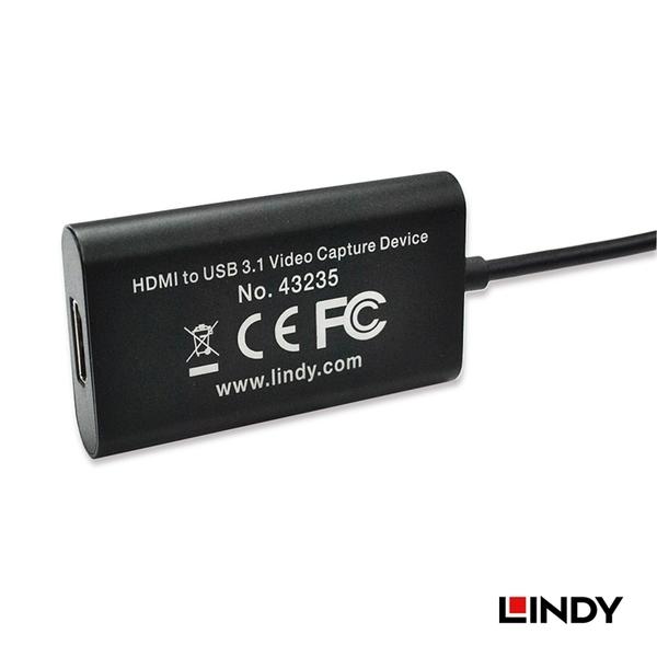 LINDY 林帝 HDMI TO USB3.1 影像擷取器  43235