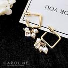 《Caroline》★韓國熱賣造型時尚  高貴典雅設計耳環70884