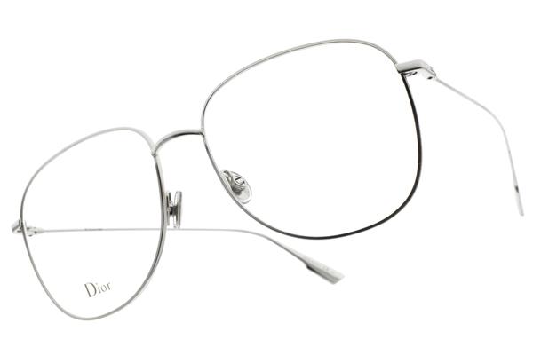 Dior 光學眼鏡 STELLAIRE O8 010 (銀) 簡約造型系列 平光鏡框# 金橘眼鏡
