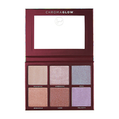 Sigma 6色打亮修容盤 28.14g Chroma Glow Shimmer+Highlight Palette - WBK SHOP