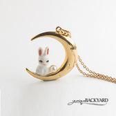 yuniqueBACKYARD 月兔項鍊