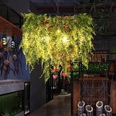 吊燈 燈具音樂主題餐廳酒吧台火鍋店裝飾創意網咖啡廳綠植物 現貨快出YJT