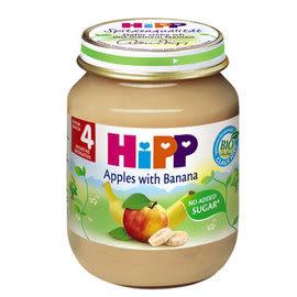 HiPP喜寶 有機蘋果香蕉泥125g