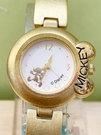 【震撼精品百貨】米奇/米妮_Micky Mouse~日本迪士尼米奇鐵錶/手錶-圓金#21601