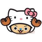 日本限定海賊王x Kitty(喬巴)造型杯墊298188(ONE PIECE)【玩之內】日本正版進口