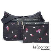LeSportsac - Standard雙口袋A4大書包-附化妝包 (花舞雪) 7507P F081