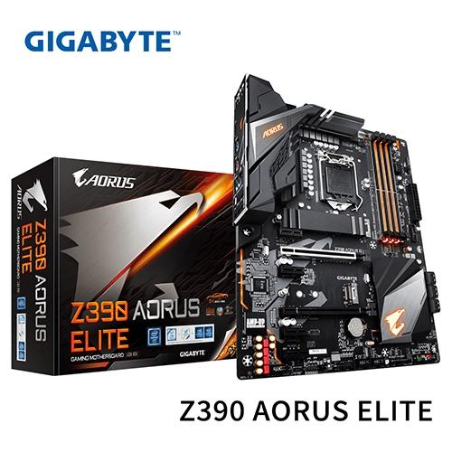 GIGABYTE 技嘉 Z390 AORUS ELITE 1151腳位 主機板