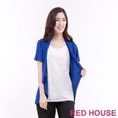 RED HOUSE-蕾赫斯-假2件式蕾絲上衣(共2色)