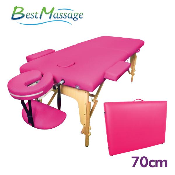 FDW【MTT1】免運現貨*美國 BestMassage 加寬型70CM折疊按摩床 高質量護膚摺疊按摩床美容床