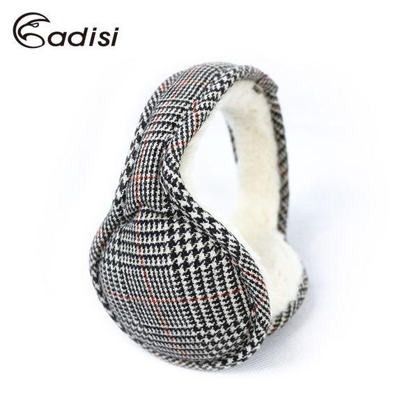 ADISI 千鳥格保暖耳罩AS16131 (F) / 城市綠洲專賣(護耳、內裡柔軟、旅遊、出國、盒裝)
