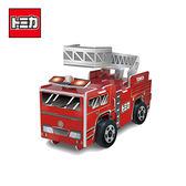 【日本正版】TOMICA 多美組合小汽車 消防車 組合式玩具 玩具車 TAKARA TOMY - 139521