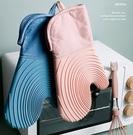 北歐風矽膠拼接耐熱手套(防滑矽膠+防燙棉層)(1只) 加厚防燙手套 隔熱手套 廚房小物
