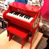 ★展示品出清★Schoenhut直立型兒童鋼琴-9258D紅色~僅此一台!(限自取)