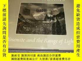 二手書博民逛書店【罕見】1979年 Yosemite and the range