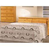 床架 AT-349-1A 正赤陽木3.5尺雙人床 (床頭+床底)(不含床墊) 【大眾家居舘】