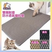 【附發票 小號】Cat litter mat貓砂墊 雙層耐磨防水透氣貓砂墊 不漏砂貓砂墊 雙層貓砂墊 集沙