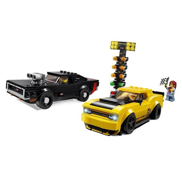 LEGO 樂高 SPEED 極速系列 75893 道奇對決 Dodge 【鯊玩具Toy Shark】