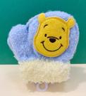 【震撼精品百貨】Winnie the Pooh 小熊維尼~啾啾兒童手套-黃*30903