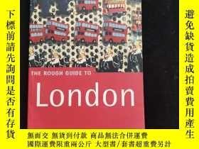 二手書博民逛書店英文原版罕見THE ROUGH GUIDE TO LONDONY