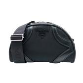 【台中米蘭站】全新品 PRADA Bowling 尼龍斜背包(1BH140-黑)