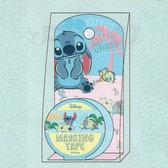Hamee 日本正版 迪士尼 紙膠帶 辦公小物 手帳日記裝飾 (史迪奇) UA54190