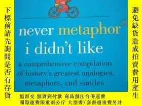 二手書博民逛書店I罕見never Metaphor I Didn t Like[