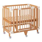 【預購-預計12月中出貨】日本 farska 童趣森林5合1嬰兒床(小床)