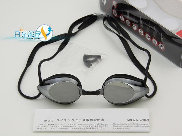 *日光部屋* arena (公司貨)/AGG-280M-SSMK 競泳/訓練/鍍膜/小鏡面泳鏡