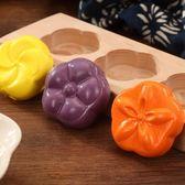 家用烘焙模具木質冰皮月餅模卡通餅干模手壓式綠豆糕點清明果模具 桃園百貨