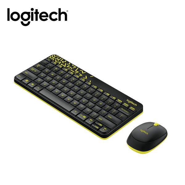 【logitech 羅技】MK240 NANO無線鍵鼠組 黑色 【買再送手機指環支架】