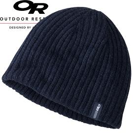 【Outdoor Research 美國 CAMBER BEANIE 透氣保暖壓克力帽 深藍】244848CA/保暖帽/毛帽★滿額送