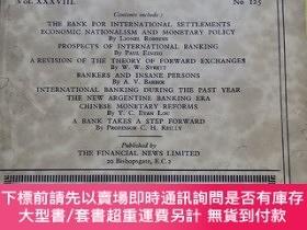 二手書博民逛書店【英文原版民國老雜誌】the罕見Banker 1936 .June 銀行家Y9636 the Banker t