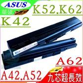 ASUS電池(9芯/保固最久)-華碩 K42,K52電池,K62,X42電池,X51,X52,X62,X5K,X8F電池,K42F,A42-K52