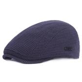 貝雷帽-冬季加厚保暖純色男女鴨舌帽5色73tv6【時尚巴黎】
