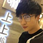 現貨-韓版ulzzang時尚百搭平光鏡新款方形復古個性眼鏡框男款女款潮平光鏡近視鏡眼鏡架278