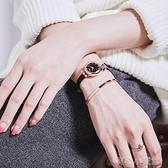 手錶女學生細帶小巧 氣質送女友星空時尚防水法國裝飾小眾時裝錶 育心館