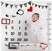 拍照道具寶寶拍照背景布嬰兒滿月百天月份攝影道具加厚新生兒拍照毯背景毯 衣間迷你屋