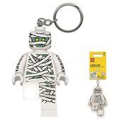 《 樂高積木 LEGO 》LED 燈鑰匙圈 - 木乃伊╭★ JOYBUS玩具百貨