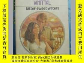 二手書博民逛書店Bitter-sweet罕見waters 英文原版口袋書Y109