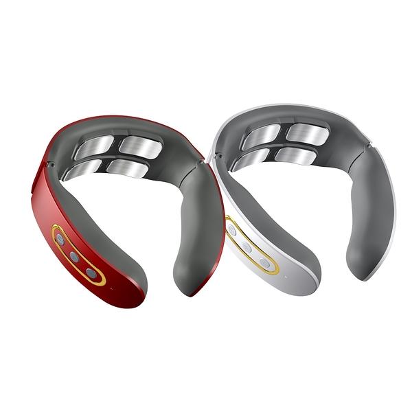 【X-BIKE 晨昌】智能肩頸按摩器/四頭加熱款 熱敷/恆溫/輕便 USB快速充電款 MAS-Q121