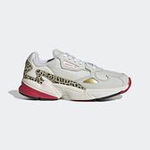 Adidas Falcon W [FV8079] 女鞋 運動 休閒 路跑 老爹 經典 復古 潮流 穿搭 愛迪達 米 紅