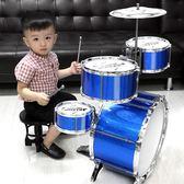 架子鼓 大號兒童架子鼓爵士鼓初學者小孩敲打樂器音樂玩具男寶寶 歐萊爾藝術館
