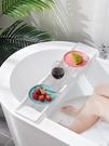 浴缸架 優思居 可伸縮浴缸瀝水架子 多功能家用衛生間洗澡盆收納架置物架【快速出貨八折下殺】